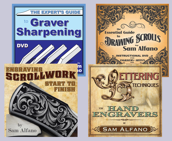 Sam Alfano's Metal Engraving Workshop (4 DVD Set)