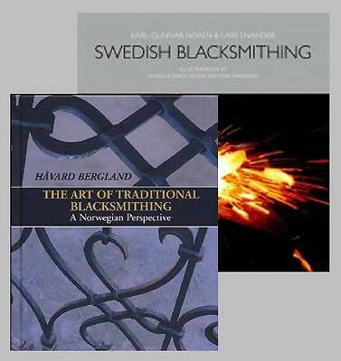 Scandinavian Blacksmithing Set: Norwegian Blacksmithing & Swedish Blacksmithing by Bergland and Norén (2 Book Set)