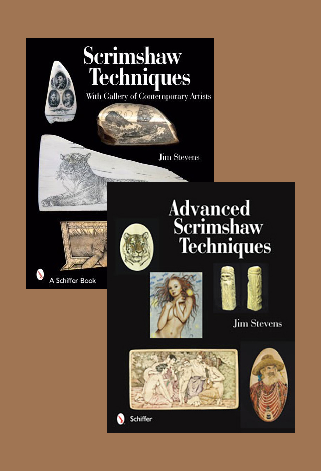 Scrimshaw Techniques: Basic to Advanced (2 Book Set) by Jim Stevens