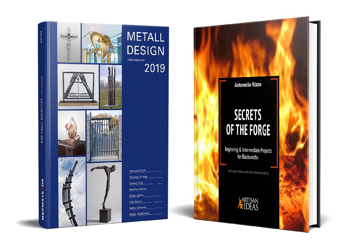 Secrets of the Forge and the 2019 International Metal Design Annual (Two Book Set)
