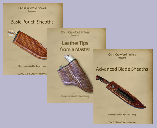 Knife Sheath Construction (3 DVD Set) with Paul Long