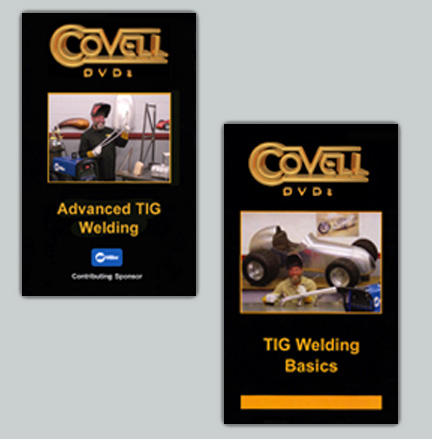 TIG Welding Set with Ron Covell: TIG Welding Basics & Advanced TIG Welding (2 DVD Set)