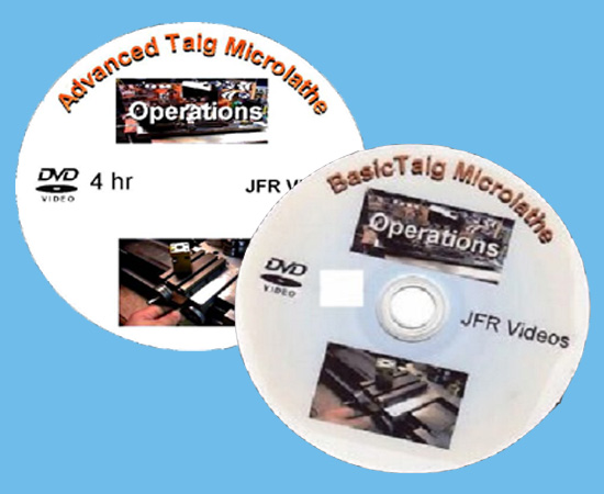 Basic and Advanced Taig Micro Lathe Operations (2 DVD Set)