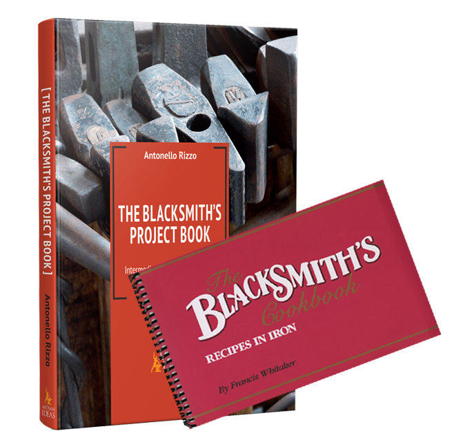 The Blacksmith's Cookbook and The Blacksmith's Project Book (2 Book Set)