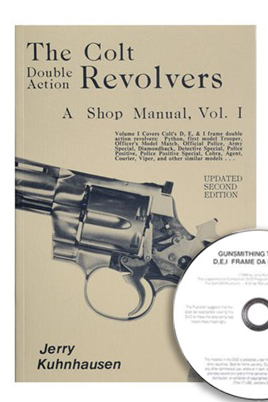 "The Colt Double Action Revolvers  Vol. I & ""Gunsmithing the Colt D, E & I Frame Series Revolvers"" (Book & DVD Set)"