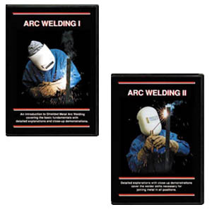 Arc Welding I and II with Steve Bleile (2 DVD Set)