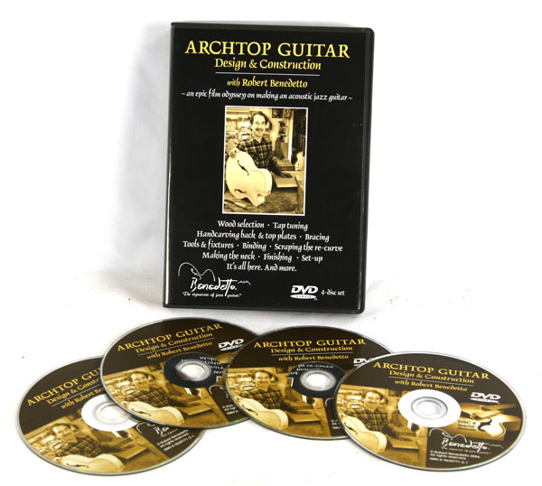 Archtop Guitar Design and Construction with Robert Benedetto (DVD)