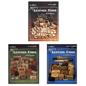 The Art of Making Leather Cases 3 Volume Set by Al Stohlman