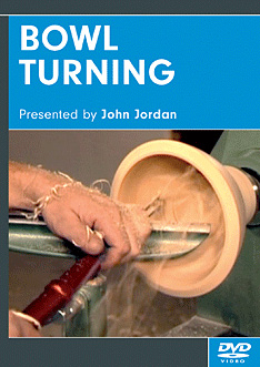 Bowl Turning with John Jordan (DVD)