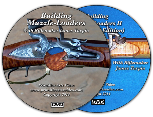 Building Muzzle Loaders I and II with James Turpin (2 DVD Set)