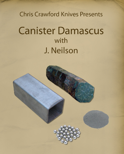 Canister Damascus with J. Neilson