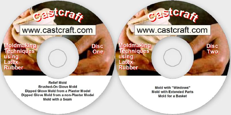 Moldmaking Techniques Using Latex Rubber (2 DVDs) by Roger Beebe