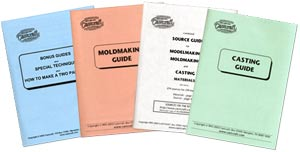 Castcraft Moldmaking & Casting Guides (4 Book set) by Roger Beebe
