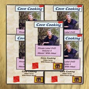 Cave Cooking: Wilderness and Survival Cooking DVD Library (5 DVD Set)