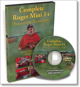 Complete Ruger Mini 14 Disassembly and Reassembly with Larry Crow (DVD)