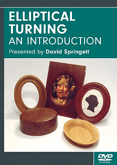 Elliptical Turning: an Introduction with David Springett (DVD)