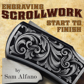 Engraving Scrollwork - Start to Finish, by Sam Alfano (DVD)