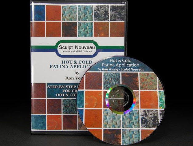 Hot and Cold Patina Application with Ron Young (DVD)