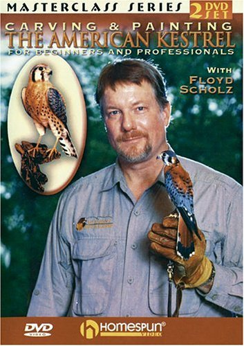 Carving & Painting The American Kestrel (DVD)