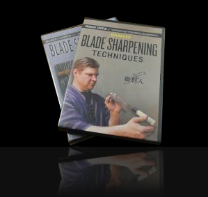 Blade Sharpening Set by Murray Carter (2 DVD set)