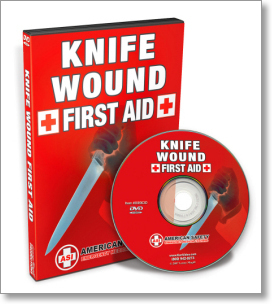 Knife Wound First Aid with John Klatt (DVD)
