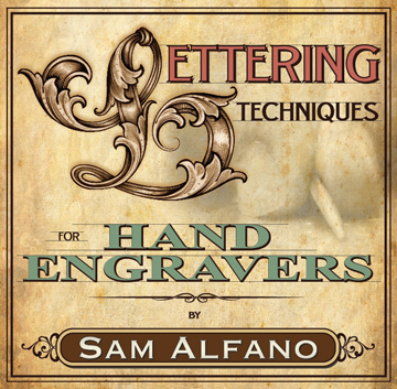 Lettering Techniques for Hand Engravers by Sam Alfano (DVD)