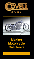 Making Motorcycle Gas Tanks with Ron Covell (2 DVDs)