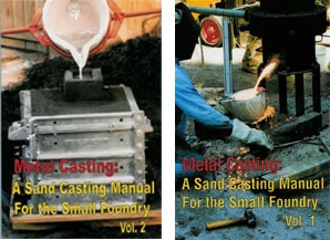 Metal Casting Set (Volumes One and Two at a Savings) by Steve Chastain