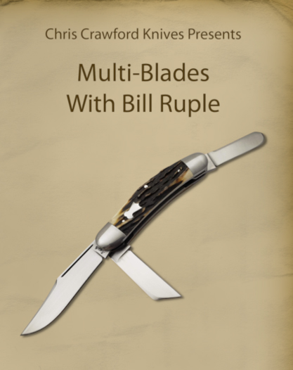 Multi-Blades with Bill Ruple (DVD)