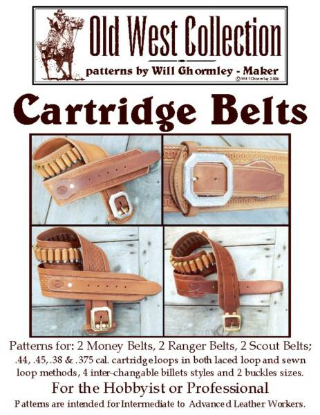 Cartridge Belts Pattern Pack by Will Ghormley (OOP)