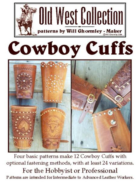 Cowboy Cuffs Pattern Pack by Will Ghormley
