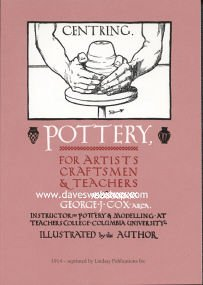 Pottery for Artists, Craftsmen & Teachers by George J. Cox