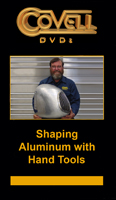 Shaping Aluminum with Hand Tools with Ron Covell (DVD)