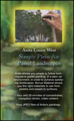Simply Plein Air - Pastel Landscapes with Anita Louise West (DVD)