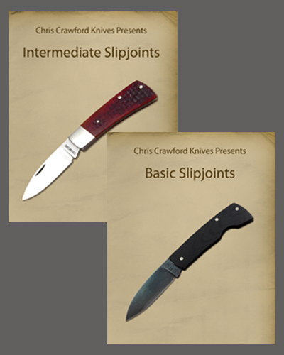 Basic and Intermediate Slipjoint Knives with Chris Crawford (2 DVD set)
