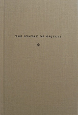 The Syntax of Objects by Tim McCreight (Revised Edition)