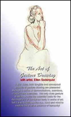The Art of Gesture Drawing with Ellen Sodequest (DVD)