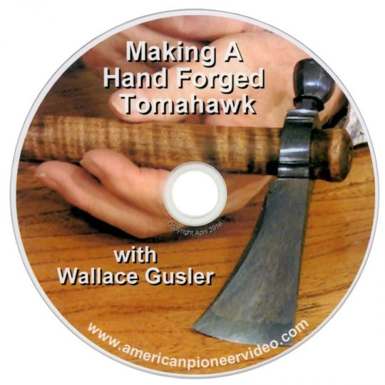 Making a Hand Forged Pipe Tomahawk (DVD) | 0719377332972