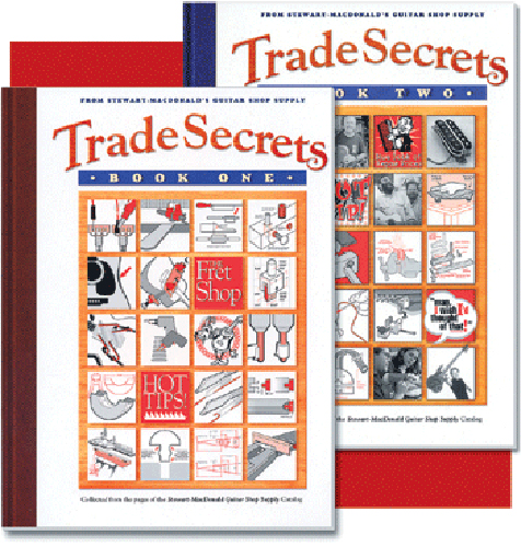 Trade Secrets Set (Guitar Building and Repair Tips) Volumes 1 and 2
