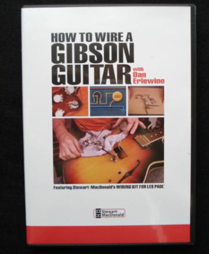 How to Wire a Gibson® Guitar (DVD) with Dan Erlewine