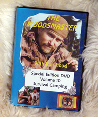 Survival Camping with Ron Hood: Woodsmaster Volume 10 (DVD)