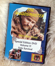 Solo Survival Skills with Ron Hood: Woodsmaster Volume 11 (DVD)