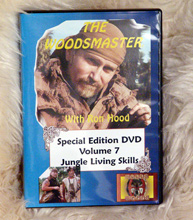 Jungle Living Skills with Ron Hood: Woodsmaster Volume 7 (DVD)