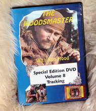 Tracking with Ron Hood: Woodsmaster Volume 8 (DVD)