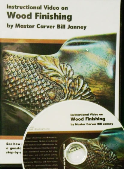 Wood Finishing with Master Carver Bill Janney (DVD)